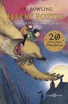 Harry Potter e il prigioniero di Azkaban. Vol. 3 - J. K. Rowling - copertina