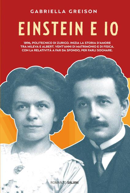 Einstein e io - Gabriella Greison - copertina