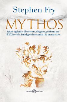 Mythos - Stephen Fry - copertina