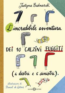 Listadelpopolo.it L' incredibile avventura dei 10 calzini fuggiti (4 destri e 6 sinistri) Image