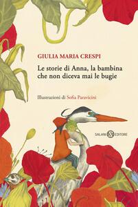 Le storie di Anna, la bambina che non diceva mai le bugie - Giulia M. Crespi - copertina