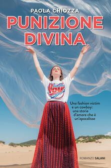 Punizione divina - Paola Chiozza - copertina