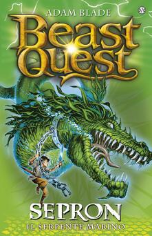 Vitalitart.it Sepron. Il serpente marino. Beast Quest. Vol. 2 Image