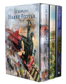 Harry Potter: La pietra filosofale-La camera dei segreti-Il prigioniero di Azkaban - J. K. Rowling - copertina