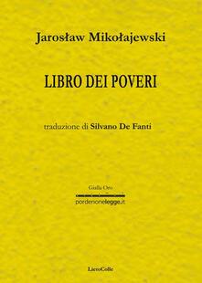 Libro dei poveri - Jaroslav Mikolajewski - copertina