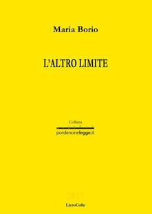 L' altro limite - Maria Borio - copertina