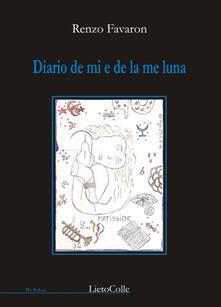 Diario de mi e de la me luna - Renzo Favaron - copertina