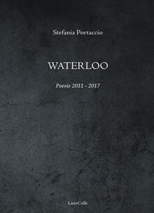 Waterloo - Stefania Portaccio - copertina