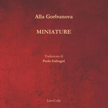 Miniature - Alla Gorbunova - copertina