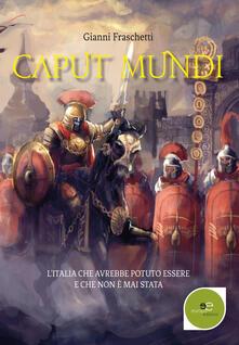 Caput mundi - Gianni Fraschetti - copertina