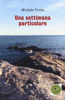 Una settimana particolare - Michele Trotta - copertina