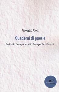 Quaderni di poesie