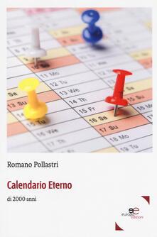 Calendario eterno di 2000 anni - Romano Pollastri - copertina