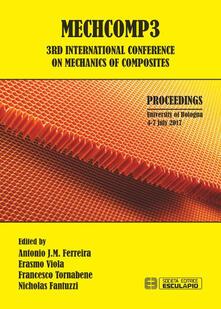 Mechcomp3. 3rd international Conference of mechanics of composite - copertina