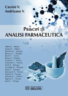 Principi di analisi farmaceutica - Vanni Cavrini,Vincenza Andrisano - copertina