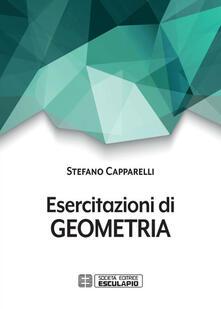 Esercitazioni di geometria - Stefano Capparelli - copertina