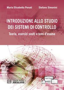 Steamcon.it Introduzione allo studio dei sistemi di controllo. Teoria, esercizi svolti e temi d'esame Image