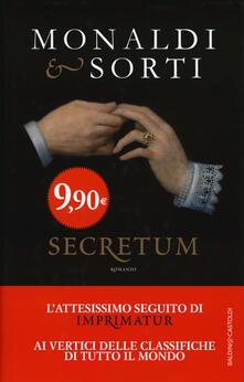 Secretum - Rita Monaldi,Francesco Sorti - copertina
