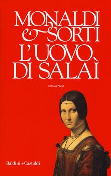 L' uovo di Salaì - Rita Monaldi,Francesco Sorti - copertina