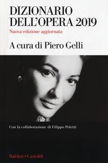 Radiospeed.it Dizionario dell'opera 2019 Image