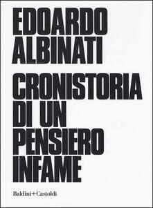 Fondazionesergioperlamusica.it Cronistoria di un pensiero infame Image