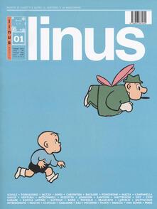 Rivista Linus. Gennaio 2019 - copertina