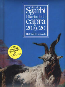 Diario della capra 2019-2020 - Vittorio Sgarbi - copertina