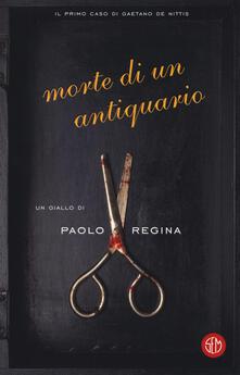 Morte di un antiquario - Paolo Regina - copertina