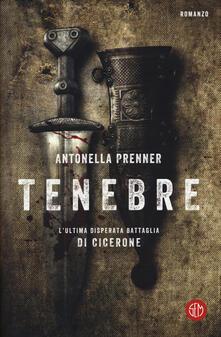 Tenebre - Antonella Prenner - copertina