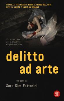 Delitto ad arte - Sara Kim Fattorini - copertina