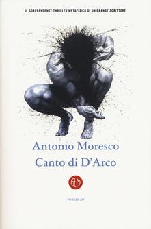 Canto di D'Arco - Antonio Moresco - copertina