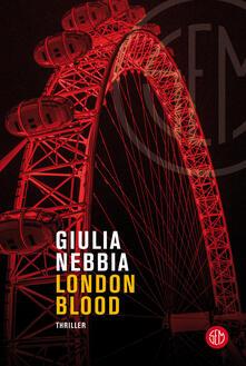 London blood - Giulia Nebbia - copertina