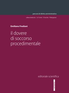 Il dovere di soccorso procedimentale - Emiliano Frediani - copertina