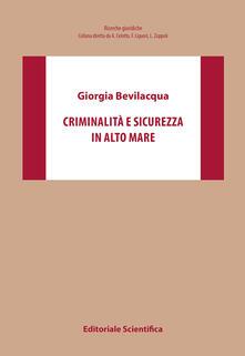 Criminalità e sicurezza in alto mare - Giorgia Bevilacqua - copertina