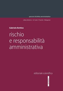 Rischio e responsabilità ammininistrativa - Gabriele Bottino - copertina