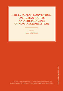 The european convention on human rights and the principle of non-discrimination. Ediz inglese e francese - copertina