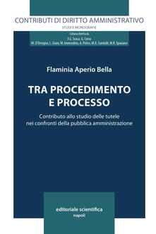 Tra procedimento e processo. Contributo allo studio delle tutele nei confronti delle pubblica amministrazione - Flaminia Aperio Bella - copertina