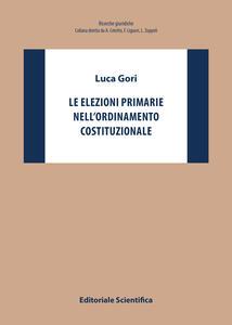 Le elezioni primarie nell'ordinamento costituzionale