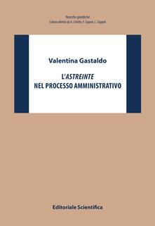 L' astreinte nel processo amministrativo - Valentina Gastaldo - copertina