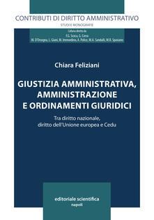 Giustizia amministrativa, amministrazione e ordinamenti giuridici. Tra diritto nazionale, diritto dell'Unione europea e Cedu - Chiara Feliziani - copertina