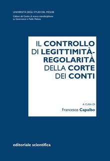 Voluntariadobaleares2014.es Il controllo di legittimità-regolarità della Corte dei Conti Image