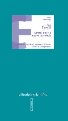 Diritto, diritti e nuove tecnologie - Carla Faralli - copertina