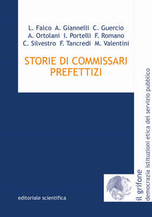Storie di commissari prefettizi - copertina