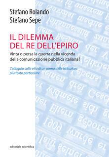 Promoartpalermo.it Il dilemma del Re dell'Epiro. Vinta o persa la guerra nella vicenda della comunicazione pubblica italiana? Image