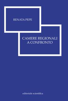 Camere regionali a confronto - Renata Pepe - copertina