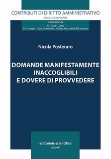 Domande manifestamente inaccoglibili e dovere di provvedere - Nicola Posteraro - copertina