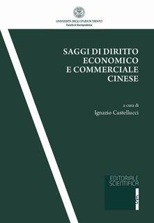 Saggi di diritto economico e commerciale cinese - copertina