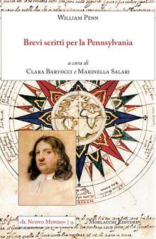 Brevi scritti per la Pennsylvania - William Penn - copertina
