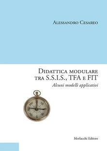 Didattica modulare tra S.S.I.S., TFA e FIT. Alcuni modelli applicativi - Alessandro Cesareo - copertina