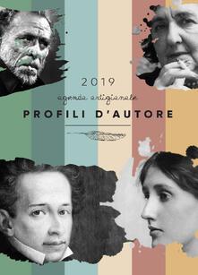 Profili d'autore. Agenda artigianale 2019. Letteratura, font, lettering per un'agenda tutta da scrivere - copertina